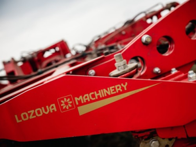 LOZOVA MACHINERY HAS APPROVED A NEW SUPPLIER OF COMPONENTS