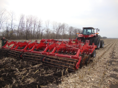 LOZOVA MACHINERY SUCCESSFULLY COMPLETED SPRING TESTING OF THE DUCAT GOLD HEAVY DISC HARROW
