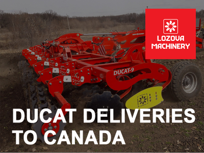 LOZOVA MACHINERY is increasing the supply of equipment to Canada