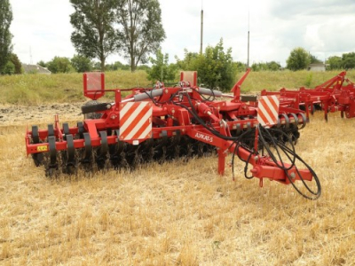 LOZOVA MACHINERY AT THE FIELD DAY IN LATVIA