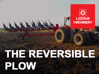 LOZOVA MACHINERY continues to test the reversible plow in the fields