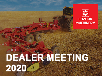 LOZOVA MACHINERY held a conference for dealers