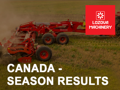 LOZOVA MACHINERY has finished a successful season in Canada