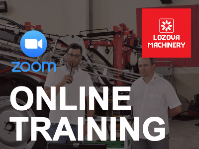 LOZOVA MACHINERY has started online training for dealers