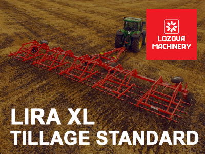 High quality of tillage with LIRA XL